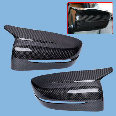 Carbon Fiber Rear View Mirror Cover Shell Housing Fits For BMW G30 G38 G11 G12
