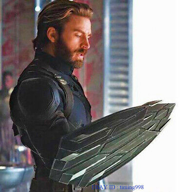 Avengers 3 Infinity War Captain America Shield For Cosplay 1:1 Full Metal Props