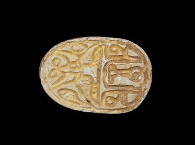 Tz 30,Egyptian Steatite Scarab .