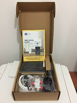 Arris Nbn Connection Box Cm8200B With Splitter - Brand New Never Used