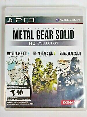 METAL GEAR SOLID (SONY PlayStation 2 Video Game ONLY
