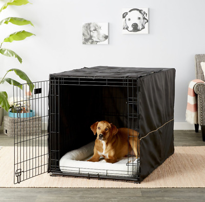 "48"" Extra Large Giant Breed Dog Crate Kennel XL Pet Wire Cage Huge Folding"