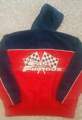 The Fast And The Furious Movie Vintage retro Jacket Liscensed Hobbs and Shaw