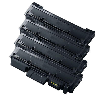 4PK MLT-D116L Compatible Black Toner Cartridge For Samsung SL-M2625D SL-M2626