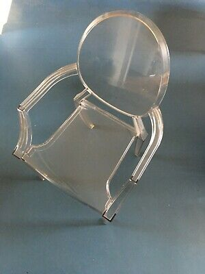 Louis Ghost Chair designed by Philippe Starck