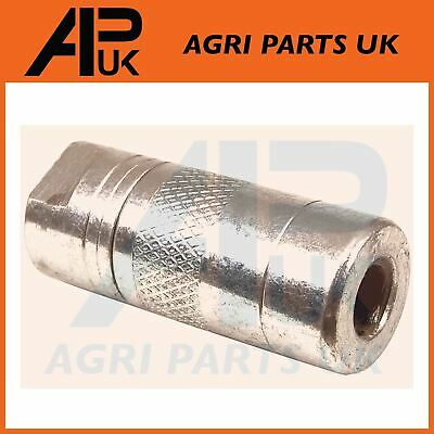 1 X Heavy duty Grease Gun end M10 BSP Coupler nipple connector 4 Jaw Type