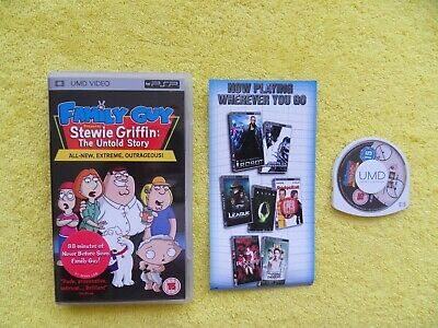 FAMILY GUY presents stewie griffin - sony playstation portable / PSP UMD video