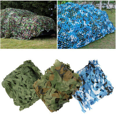 4mX6m Camouflage Camo Net Netting Hide Hunting Army Cover 1-2 Days UK Delivery