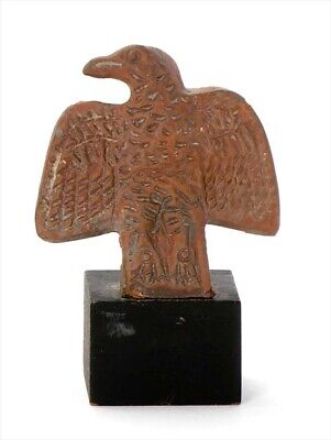 *SC*SUPERB ROMAN TERRACOTTA MILITARY EAGLE FINIAL,  1st.-3rd. century AD!