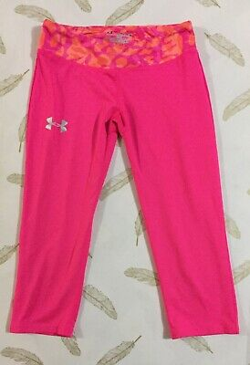 Under Armour Girls 3/4 Sports Leggings YMD (10 Years)