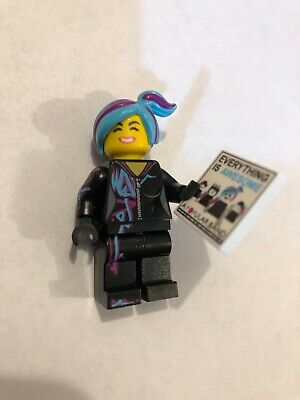 Lego Lucy Wyldstyle Mini Fig New Minifigure 70847 Lego Movie 2 Sparkle Babies 3 49 Picclick