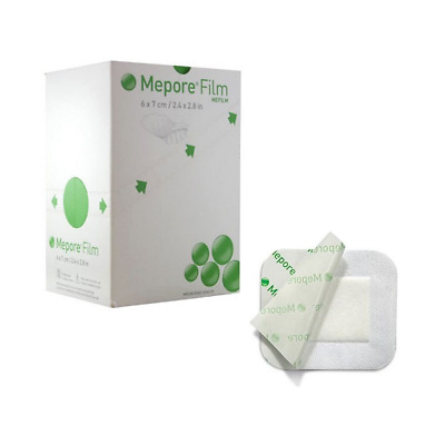 Mepore Adhesive First Aid Dressing - Surgical Tape Bandage -All Sizes -Box Of 50