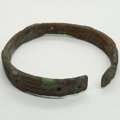 Bronze Bracelet  Solar signs 100-500AD. Viking / Scythian