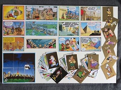 Collection panini asterix carrefour 124 Stickers Complet