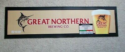 GREAT NORTHERN Brewing Co. Bar Mat  -  free postage ,,,