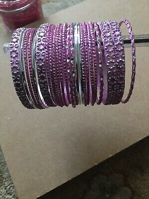 Indian Bollywood Bangle Costume Fashion Jewellery Wedding Party Wear 24 Bracelet