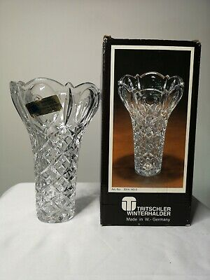 Tritscher Winterhalder Crystal Flower holder