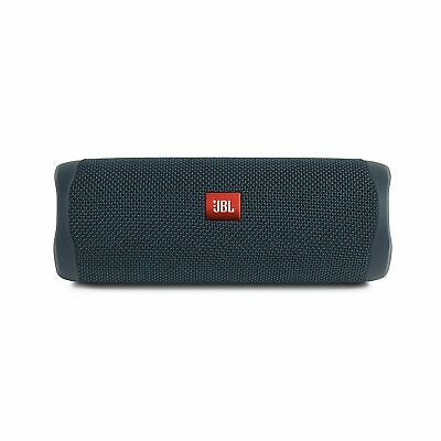JBL Flip 5 Portable Waterproof Bluetooth Speaker Blue (JBLFLIP5BLUAM)