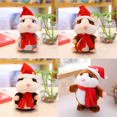 Hamster Cheeky Electronic Talking What Gift Cute Pet You Say Repeats Plush Toy