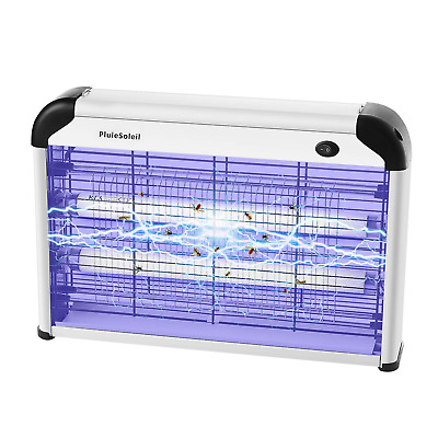 PluieSoleil Indoor Electric Fly Killer, Fly Bug Zapper with UV Light, Powerful