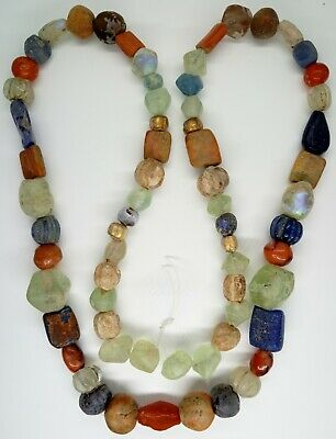 Beads Сornelian Glass  / 200-300AD. Celtic / Bosporus / Scythian