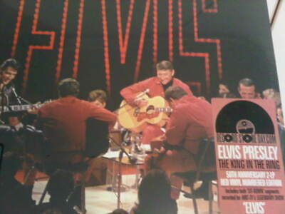 Elvis Presley The King In The Ring RSD 2 LP NUMBERED COLORED RAREST SEALED NEW