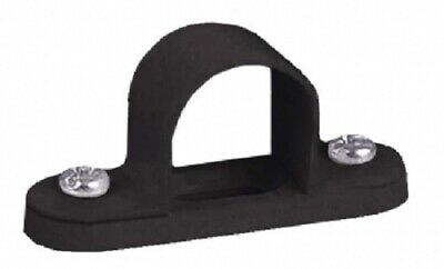 10 x Black Steel Spacer Bar Saddles for 20mm Conduit - Conforms to New Fire Regs
