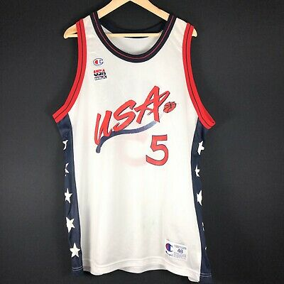 NEU Champion Grant Hill Dream Team XL 48 NBA Trikot Basketball jordan lebron