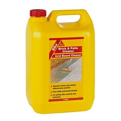 Sika Brick & Patio Cleaner Powerful Acid Based Cleaner 5 Litre