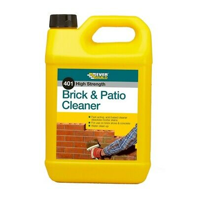 Everbuild 401 High Strength Acid Based Brick & Patio Cleaner 5 Litre