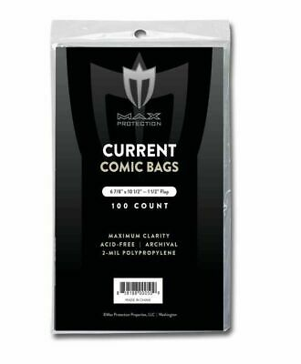 1+ Premade Comic Bag and Board Current Silver Golden Age Toploaders Boards Upick