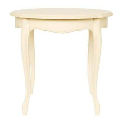 Laura Ashley Provencale Bistro Table in Ivory