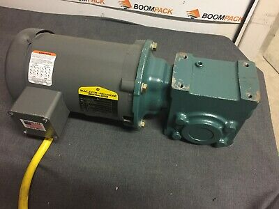 ONE NEW BALDOR 1 PHASE 0.5 HP MOTOR 115VAC 83RPM 25E332W055G1