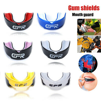 Boxing Gum Shield MMA Martial Arts Mouth Guard Teeth Protection Grinding Junior