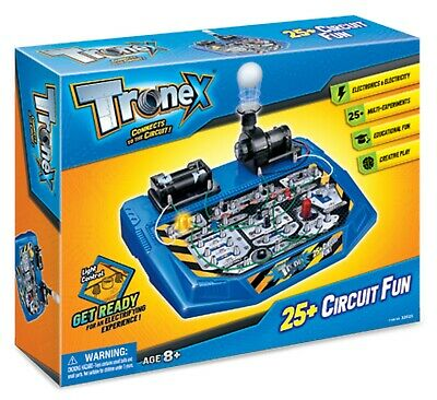 Tronex Electronics Circuit Fun Kit 25+ Experiments Age 8+ Easy To Use STEM Toy