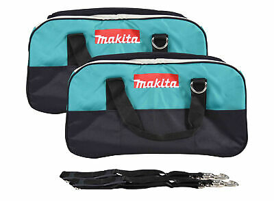 """22"""" Makita Bag 2 Pack. Durable handles and comes with clip on shoulder strap."""