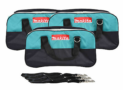 """22"""" Makita Bag 3 Pack. Durable handles and comes with clip on shoulder strap."""