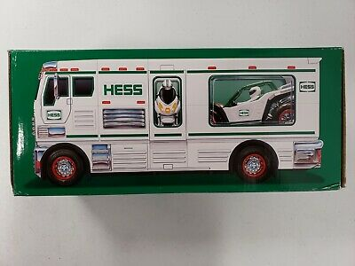 HESS RV With ATV and Motorbike 2018 Collectible Holiday Toy Truck