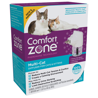 Comfort Zone Multi-Cat DIfuser for Cats and Kittens One Room