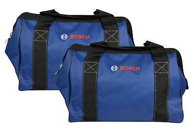 Bosch CW01 15inch Contractor Tool Bag with durable handles and zipper 2 Pack