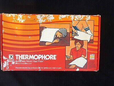"Vintage 1984 Thermophore Automatic Moist Heat Pack 13"" x 13"""