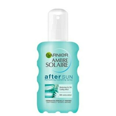 Garnier Ambre Solaire After Sun Refreshing Hydrating Spray Cactus Extract 200ml