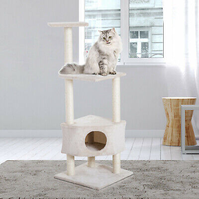 51' Multi-Level Cat Tree Kitten Activity Center Scratcher