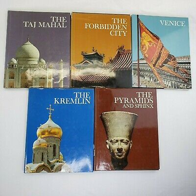 Vintage Newsweek Hardcover lot of 5 Books Wonders of Man Tablebooks Educational