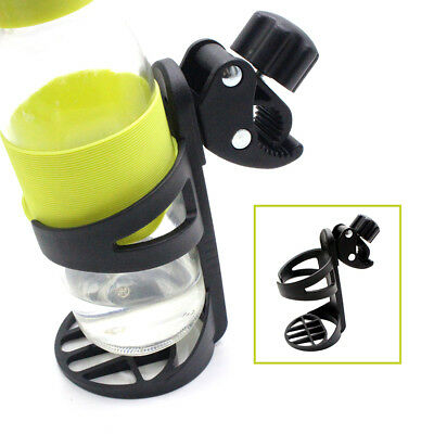 ALS_ KQ_ Plastic Beverage Bottle Bracket Cup Holder for Stroller Tricycle Bicycl