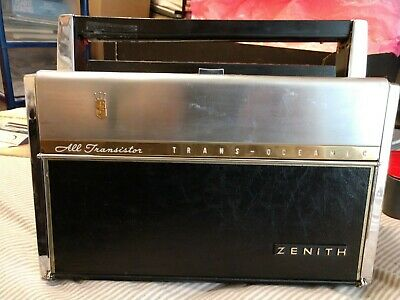 Zenith Transoceanic 1000-D Shortwave/AM Radio Trans-Oceanic TESTED WORKS