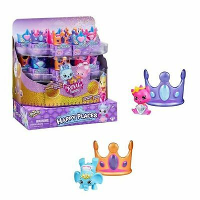 5 Shopkins Happy Places ROYAL TRENDS Blind Mystery Packs Lil Pet /& Crown Bed HTF