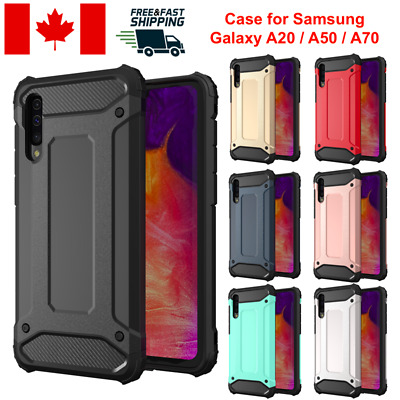 For Samsung Galaxy A20 A50 A70 Case Cover Protective Shockproof Dual Layer Tough