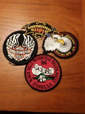 Motorcycle patches biker