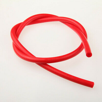 "New High Performance 6mm (1/4"") Silicone Vacuum Hose Red Pipe 10 Feet Length"